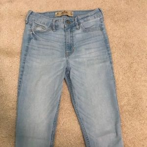 Hollister Super Skinny High Rise Jeans